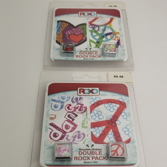 Roxo Jewelry - 2X Double Rocx Pac peace dance love charms